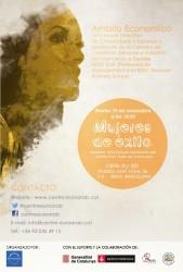 """Cartel conferencia """"Mujeres de Éxito"""""""